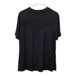 Primary Photo - BRAND: SHEIN STYLE: TOP SHORT SLEEVE COLOR: BLACK SIZE: 3X SKU: 208-208165-313