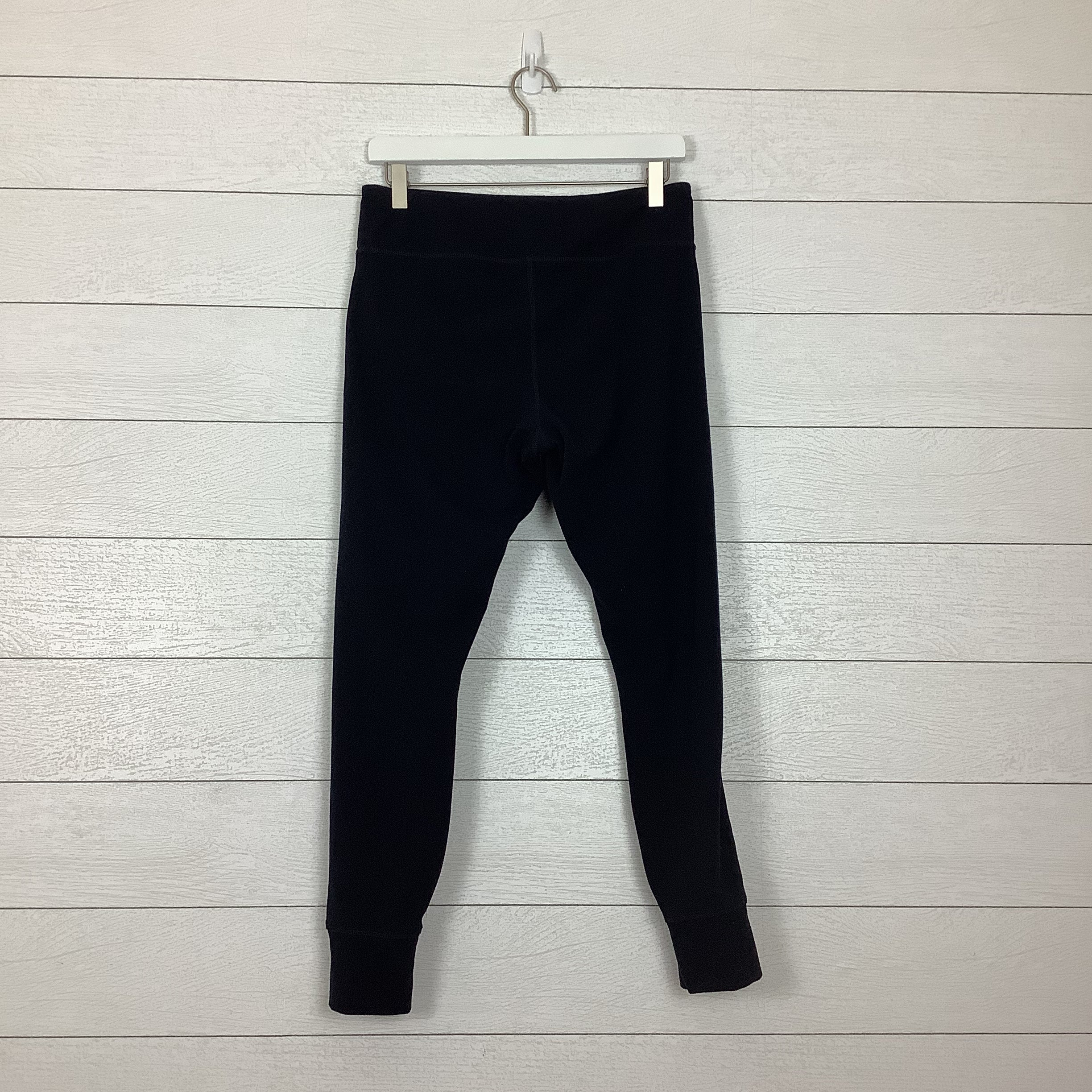 Photo #1 - BRAND: UMBRO <BR>STYLE: ATHLETIC PANTS <BR>COLOR: BLACK WHITE <BR>SIZE: L <BR>OTHER INFO: AS IS-SLIGHT WEAR <BR>SKU: 208-208131-25708
