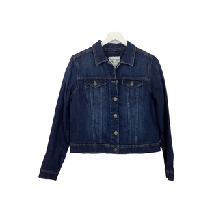 Primary Photo - BRAND: PER SE STYLE: JACKET OUTDOOR COLOR: DENIM SIZE: M SKU: 208-208158-436