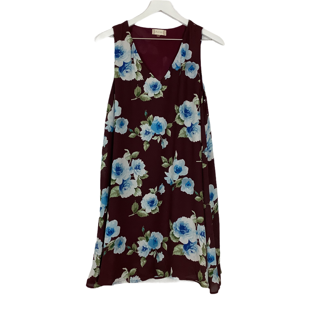 Primary Photo - BRAND: ALTARD STATE <BR>STYLE: DRESS SHORT SLEEVELESS <BR>COLOR: PLUM <BR>SIZE: L <BR>SKU: 208-208165-1147