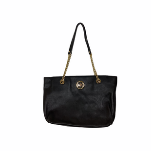 Primary Photo - BRAND: MICHAEL KORS STYLE: HANDBAG DESIGNER COLOR: BLACK SIZE: MEDIUM OTHER INFO: AS IS SKU: 208-208142-10344