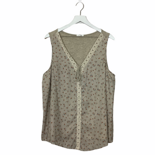 Primary Photo - BRAND: MAURICES STYLE: TOP SLEEVELESS COLOR: STRIPED SIZE: 2X SKU: 208-208131-25939AS IS