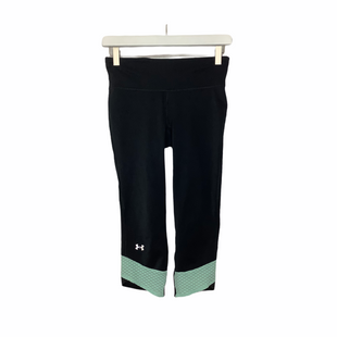 Primary Photo - BRAND: UNDER ARMOUR STYLE: ATHLETIC CAPRIS COLOR: BLACK SIZE: S OTHER INFO: AS IS SKU: 208-208131-22617