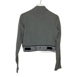 Photo #1 - BRAND: TRUE RELIGION <BR>STYLE: ATHLETIC JACKET <BR>COLOR: GREY <BR>SIZE: L <BR>SKU: 208-208142-13029