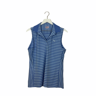 Primary Photo - BRAND: PUMA STYLE: ATHLETIC TANK TOP COLOR: BLUE SIZE: L SKU: 208-208131-23561