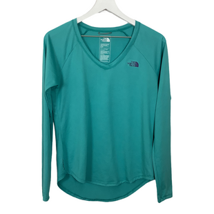 Primary Photo - BRAND: NORTHFACE STYLE: ATHLETIC TOP COLOR: AQUA SIZE: S SKU: 208-208114-41479