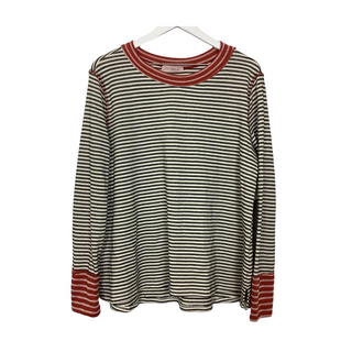 Primary Photo - BRAND: CES FEMME STYLE: TOP LONG SLEEVE COLOR: STRIPED SIZE: L SKU: 208-208162-1509