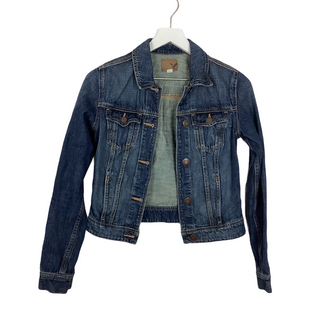 Primary Photo - BRAND: AMERICAN EAGLE STYLE: JACKET OUTDOOR COLOR: DENIM SIZE: XS SKU: 208-208131-22663AS IS SPOT