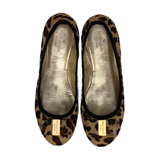 Primary Photo - BRAND: KATE SPADE STYLE: SHOES FLATS COLOR: ANIMAL PRINT SIZE: 10 SKU: 208-208162-781