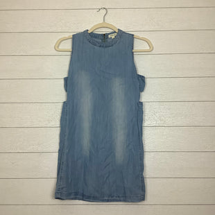 Primary Photo - BRAND: TAYLOR & SAGE STYLE: DRESS SHORT SLEEVELESS COLOR: DENIM SIZE: L SKU: 208-208131-18593