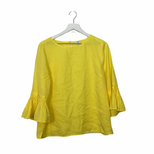 Primary Photo - BRAND: CROWN AND IVY STYLE: TOP LONG SLEEVE COLOR: YELLOW SIZE: M SKU: 208-208163-26