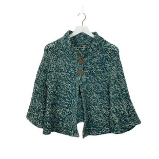 Primary Photo - BRAND: FREE PEOPLE STYLE: SWEATER HEAVYWEIGHT COLOR: BLUE SIZE: M SKU: 208-208162-1708