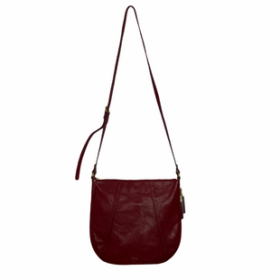 Primary Photo - BRAND: FOSSIL STYLE: HANDBAG DESIGNER COLOR: RED SIZE: MEDIUM SKU: 208-208162-454