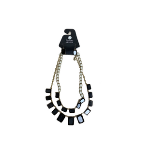 Primary Photo - BRAND:    CLOTHES MENTOR STYLE: NECKLACE COLOR: BLACK WHITE OTHER INFO: NAME BRAND - SKU: 208-208131-25800