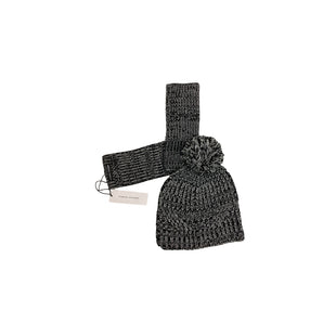 Primary Photo - BRAND: REBECCA MINKOFF STYLE: HAT COLOR: BLACK WHITE OTHER INFO: HAT & GLOVES SET SKU: 208-208131-25346