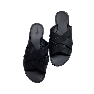 Primary Photo - BRAND: UNIVERSAL THREAD STYLE: SANDALS FLAT COLOR: BLACK SIZE: 8 SKU: 208-208162-644