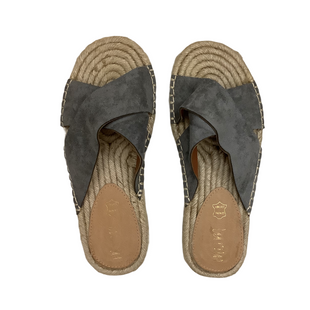 Primary Photo - BRAND:    CLOTHES MENTOR STYLE: SANDALS FLAT COLOR: GREY SIZE: 7 OTHER INFO: MI.IM - SKU: 208-208142-7617