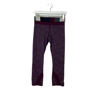 Primary Photo - BRAND: LULULEMON STYLE: ATHLETIC CAPRIS COLOR: PURPLE SIZE: M OTHER INFO: AS IS SKU: 208-208142-14326