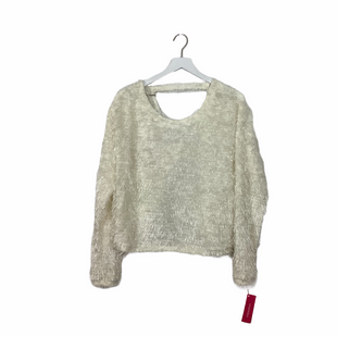 Primary Photo - BRAND: XHILARATION STYLE: SWEATER LIGHTWEIGHT COLOR: WHITE SIZE: L SKU: 208-208131-24999