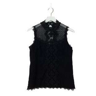 Primary Photo - BRAND: NANETTE LEPORE STYLE: TOP SLEEVELESS COLOR: BLACK SIZE: S SKU: 208-208165-384