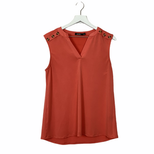 Primary Photo - BRAND:  CURESTYLE: TOP SLEEVELESS COLOR: ORANGE SIZE: M SKU: 208-20831-70856