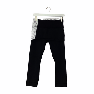 Primary Photo - BRAND: LULULEMON STYLE: ATHLETIC CAPRIS COLOR: BLACK SIZE: 6 SKU: 208-208162-1696