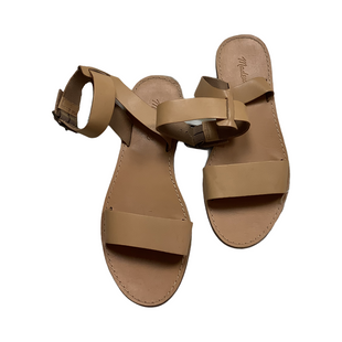 Primary Photo - BRAND: MADEWELL STYLE: SANDALS FLAT COLOR: TAN SIZE: 8.5 SKU: 208-208142-9117