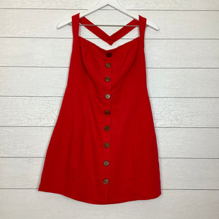 Primary Photo - BRAND: LUMIERE STYLE: DRESS SHORT SLEEVELESS COLOR: RED SIZE: L SKU: 208-208142-6468