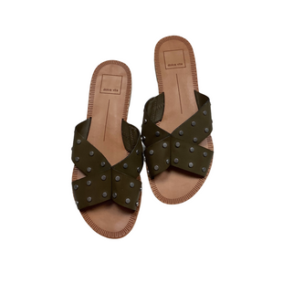 Primary Photo - BRAND: DOLCE VITA STYLE: SANDALS FLAT COLOR: OLIVE SIZE: 7.5 SKU: 208-208162-1627