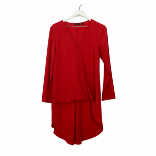 Primary Photo - BRAND: HALOGEN STYLE: TOP LONG SLEEVE COLOR: RED SIZE: 1X SKU: 208-208114-40131