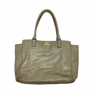 Primary Photo - BRAND: KATE SPADE STYLE: HANDBAG DESIGNER COLOR: TAN SIZE: LARGE OTHER INFO: AS IS - WEAR SKU: 208-208142-8531