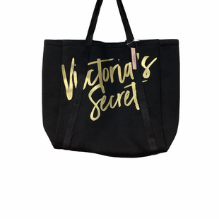 Primary Photo - BRAND: VICTORIAS SECRET STYLE: TOTE COLOR: BLACK SIZE: MEDIUM SKU: 208-208158-385