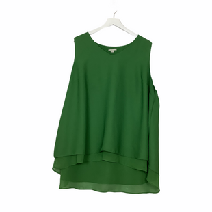 Primary Photo - BRAND: CATO STYLE: TOP SLEEVELESS COLOR: GREEN SIZE: 22 OTHER INFO: AS IS SKU: 208-208142-4358
