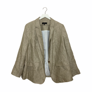 Primary Photo - BRAND: TALBOTS O STYLE: BLAZER JACKET COLOR: TAN SIZE: XL SKU: 208-20831-68970AS IS - SPOTTING