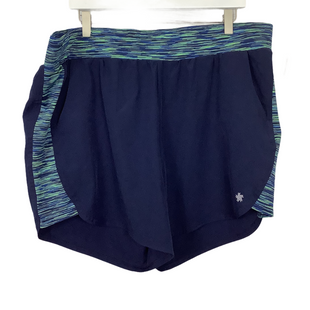 Primary Photo - BRAND: TEK GEAR STYLE: ATHLETIC SHORTS COLOR: NAVY SIZE: 1X SKU: 208-208114-43318