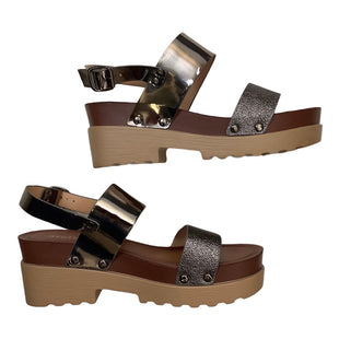 Sandals Low By Cme  Size: 8.5 - BRAND:  CME STYLE: SANDALS LOW COLOR: BROWN SIZE: 8.5 OTHER INFO: STYLUXE - SKU: 208-208165-495