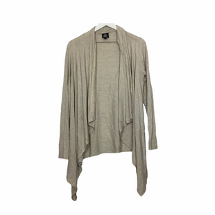 Sweater Cardigan Lightweight By Bobeau  Size: M - BRAND: BOBEAU STYLE: SWEATER CARDIGAN LIGHTWEIGHT COLOR: TAN SIZE: M SKU: 208-208163-63