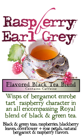 Decaff Raspberry Black Tea