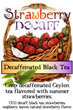 Decaff Peach Black Tea