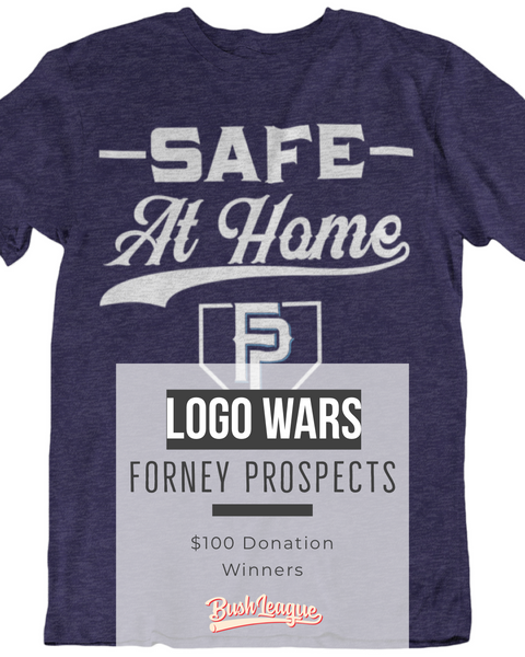 ROUND 2 LOGO WARS - The Forney Prospects win $100 for being #SafeAtHome