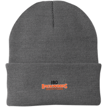 Load image into Gallery viewer, IBO Black/Orange/Gray Knit Cap