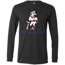 Load image into Gallery viewer, Real Baseball Talk Jersey LS T-Shirt