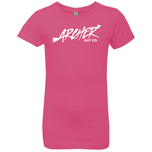 Load image into Gallery viewer, Archer Bat Co Girls' Princess T-Shirt