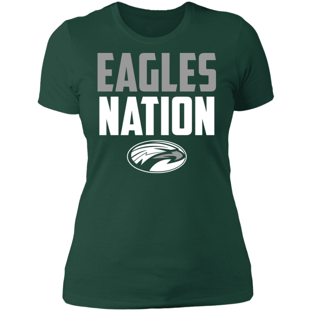 Eagles Nation Ladies' Boyfriend T-Shirt