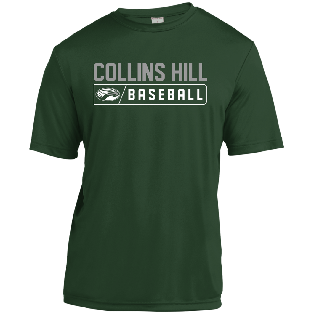 Collins Hill Bar Logo Youth Moisture-Wicking T-Shirt