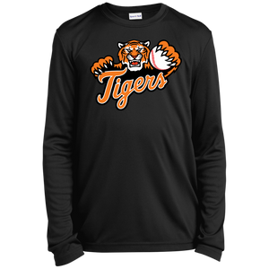 Stockbridge Tigers Youth Long Sleeve Moisture-Wicking T-Shirt