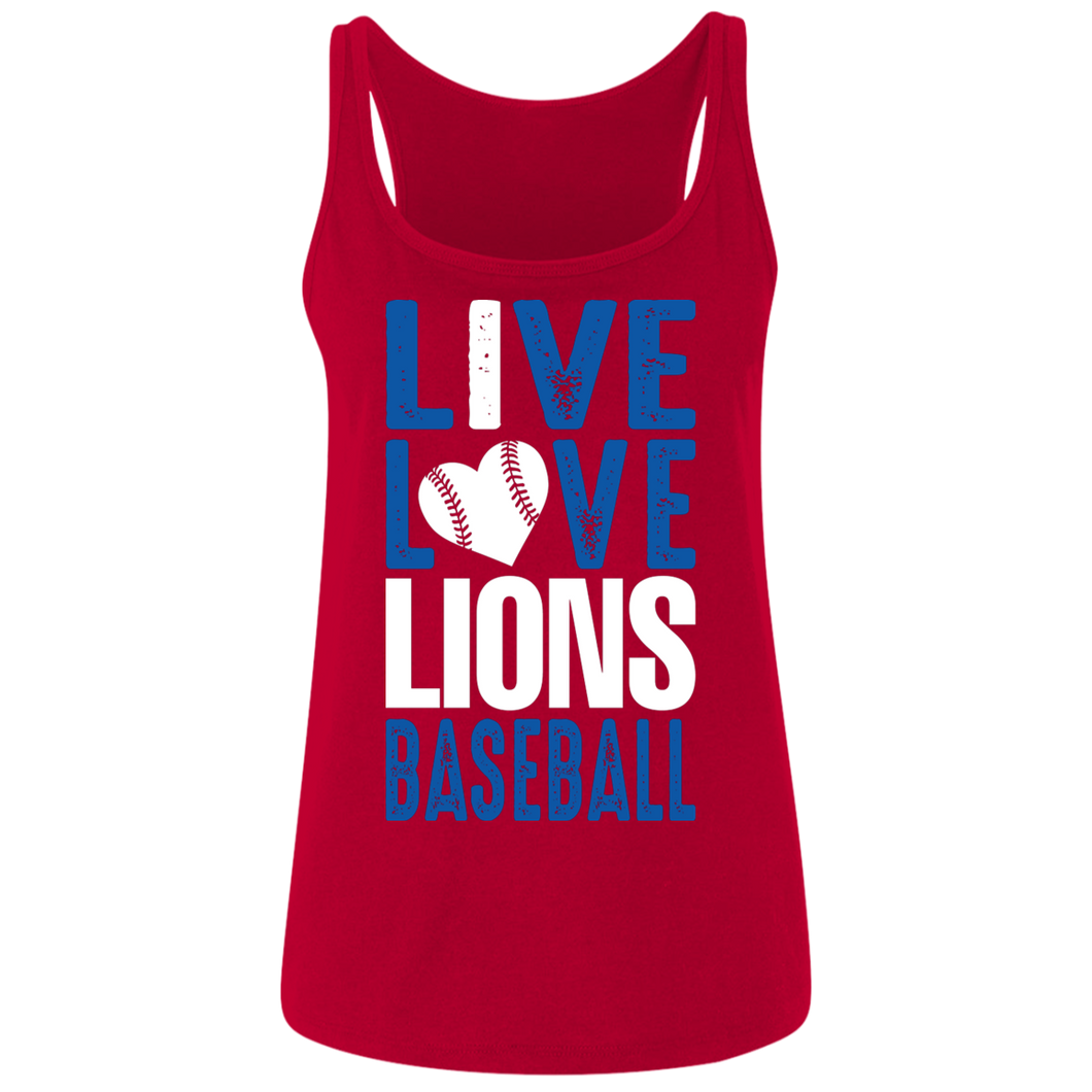 Lions Travel Ball Live/Love Ladies' Relaxed Jersey Tank
