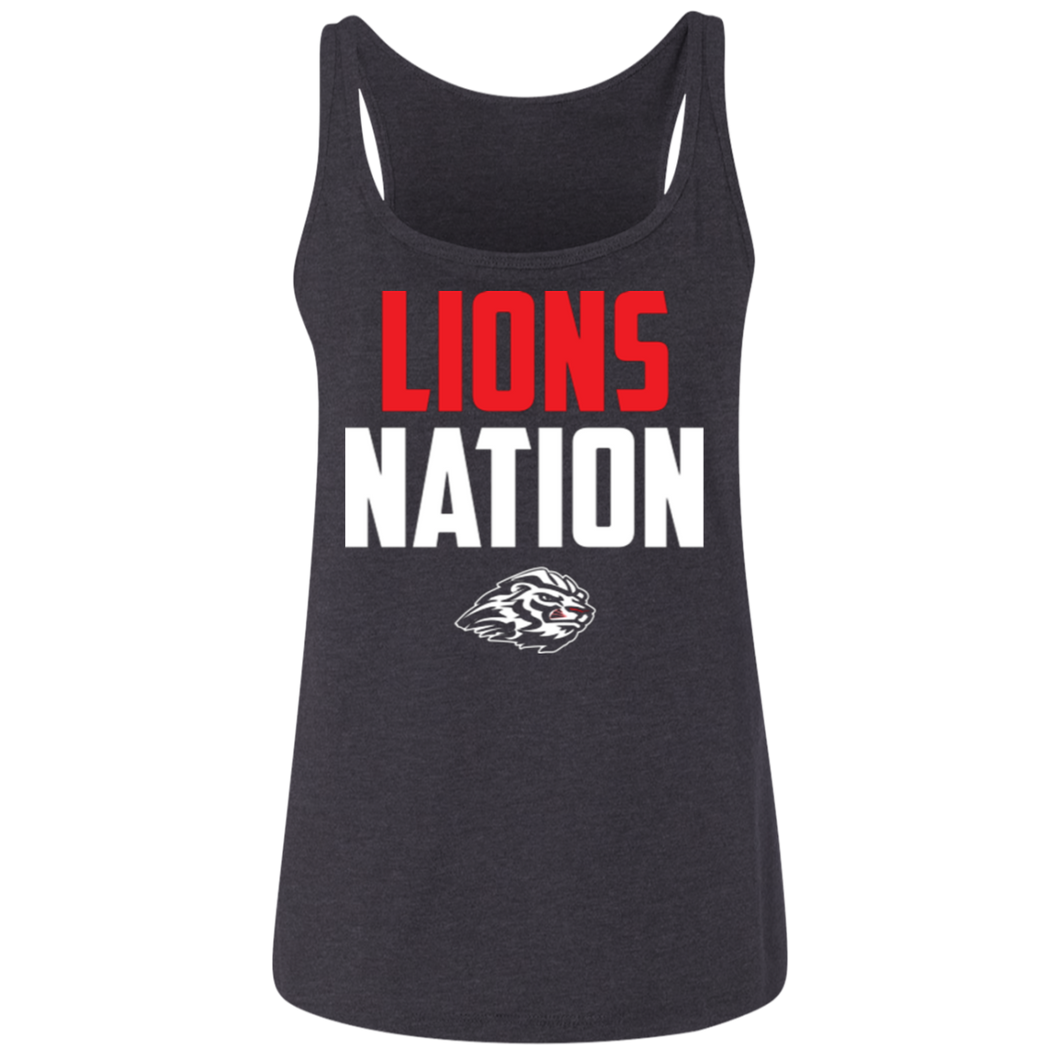 Lions Travel Ball Nation Ladies' Relaxed Jersey Tank