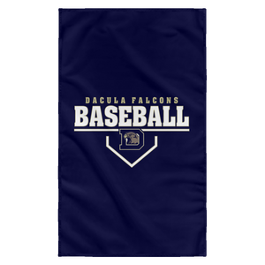 Dacula Plate Logo Sublimated Wall Flag