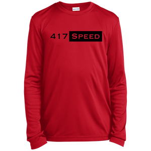 417 Speed Youth Long Sleeve Moisture-Wicking T-Shirt